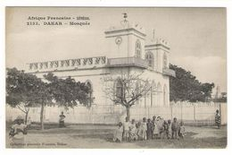 Afrique  Française ( Occidentale ) /  SENEGAL  /  DAKAR  /  MOSQUEE  ( Groupe D' Enfants ) / Coll. FORTIER  N° 2133 - French Guinea