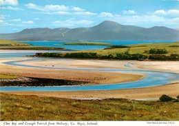 CPSM Ireland-Clew Bay And Croagh Patrick From Mulrany-Mayo            L2397 - Mayo