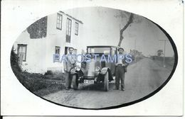80188 ITALY PORCIA PORDENONE OLD AUTOMOBILE CAR AND MAN'S POSTAL POSTCARD - Italia