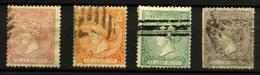 1359- España Nº 80, 82, 84/5 - 1868-70 Gobierno Provisional