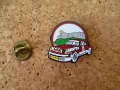 Pin's  ** Comba  ** Automobile Voiture De Rallye Course - Rallye