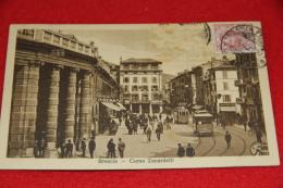 Brescia Corso Zanardelli 1923 + Tram E Bella Animazione - Brescia