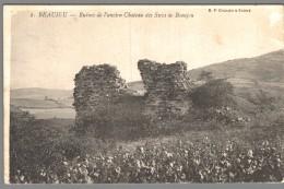 CPA 69 - Beaujeu - Ruines De L'ancien Château Des Sires De Beaujeu - Beaujeu