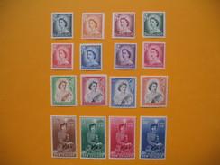 Timbre 1954  N°327 à 340 Série Complète   Neuf*/** TB - New Zealand