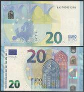 2015-NUEVO BILLETE DE 20 EUROS-SIN CIRCULAR-E003E5 - EURO