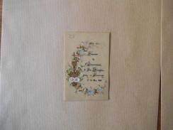 FOURMIES SOUVENIR DE 1ère COMMUNION DE IDA GENESTIN FAITE LE 20 MAI 1888 A FOURMIES - Images Religieuses