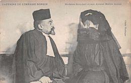 JUSTICE  - L'affaire De L'impasse ROBINSON  - Madame Steinheil Et Son Avocat Maitre Aubin - Ansichtskarten