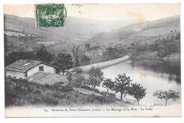 42 - Environs De Saint Chamond - Le Barrage De La Rive - La Valla - Ed. J.L. N° 34 - 1913 - Saint Chamond
