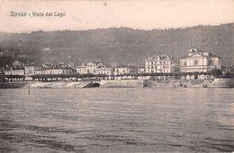 "06847 ""(VB) STRESA - VISTA DAL LAGO""  PANORAMA. CART  SPED 1903 - Verbania"