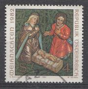 Autriche 1982  Mi.Nr: 1724 Weihnachten  Oblitèré / Used / Gebruikt - 1981-90 Afgestempeld