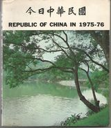 REPUBLIC OF CHINA IN 1975-76 Anglais Et Chinois - Exploration/Voyages