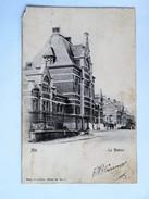 C.P.A. ATH : La Station, Timbre 1922 - Ath