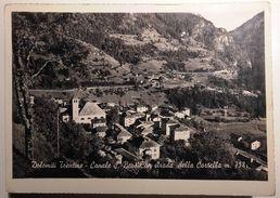 TRENTINO ALTO ADIGE - TRENTO – DOLOMITI TRENTINE – CANALE SAN BOVO CON STRADA DELLA CORTELLA -  FORMATO GRANDE - Viaggia - Trento
