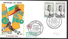 ! -  République Du Congo - Brazzaville - FDC - Fulbert Youldu Président De La République Du Congo - FDC