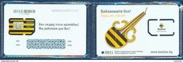 KYRGYZSTAN BEELINE GSM (SIM) CHIP CARD MINT UNUSED SEALED IN BLISTER - Kyrgyzstan