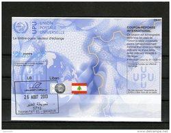 2675 IRC IAS CRI - International Reply Coupon - Antwortschein T35 Mit Stempel Liban Libanon LB20130214AA - Libanon