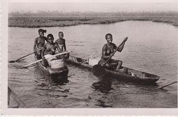 Costa D'avorio Dahomey Retour Du Marchè Sur La Lagune - Costa D'Avorio