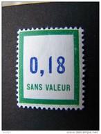 FICTIFS NEUF ** N°F161 SANS CHARNIERE (FICTIF F 161) - Phantomausgaben