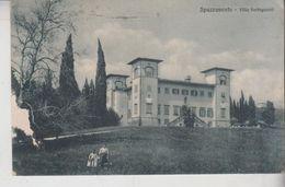 Pistoia Spazzavento Villa Forteguerri Difetto 1940  Gg - Pistoia