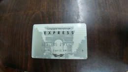 U.s.a.-credit Card-(set 177)-(323-385-237)-used+1card Prepiad Free - Geldkarten (Ablauf Min. 10 Jahre)