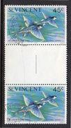 Flying Fish POSTALLY USED Gutter (sv97) - St.Vincent (...-1979)