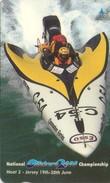 TARJETA TELEFONICA DE JERSEY ISLANDS (DEPORTES NAUTICOS) (472) - [ 7] Jersey Y Guernsey