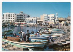 CPSM - OMAN - MUTTRAH FISH HARBOR - PECHEURS - BUS - Coul - Ann 80 - - Oman