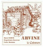 Rare // Etiquette // Arvine,Marcel Robyr, Corin-Montana, Valais,Suisse - Etiquettes