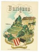 Rare // Etiquette // Burignon, Chardonne, Vaud, Suise - Etiquettes