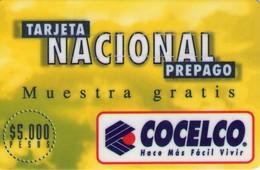 TARJETA TELEFONICA DE COLOMBIA (PREPAGO). (231) - Colombia