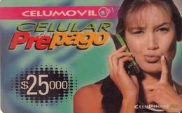 TARJETA TELEFONICA DE COLOMBIA (PREPAGO). (233) - Colombia