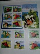2012-Alderney -Tiger Moths & Ermines- Complet Set + Sheet  MNH** - Alderney