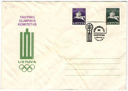 LITUANIA - Lithuania - Lietuva - 1992 - 70 Years BASKETBALL - Vilnius - Pallacanestro - Lietuvos Tautinis Olimpinis Komi - Lithuania