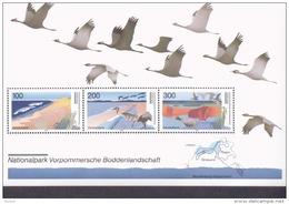 Bund Block 36 Naturpark Vorpommersche Boddenlandschaft Postfrisch MNH ** Neuf - Blocs
