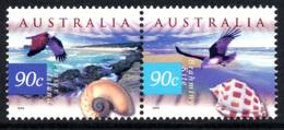 AUSTRALIA 1999 Fauna & Flora (3rd Series) 90c+90c: Pair Of Stamps UM/MNH - Nuevos