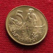 Ethiopia 5 Cent 1977 Etiopia Ethiopie UNCºº - Ethiopia