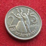 Ethiopia 25 Cent 2004 Etiopia Ethiopie UNCºº - Ethiopia