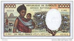 DJIBOUTI P. 39b 10000 F 1995 UNC - Djibouti