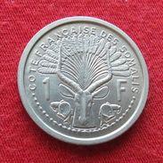 Cote Francaise Somalis 1 Franc 1959 French Somalia Djibouti - Djibouti