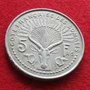 Cote Francaise Somalis 5 Francs 1959 French Somalia Djibouti - Djibouti