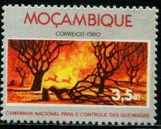 BS0249 Mozambique 1980 Forest Fire 1V MNH - Pompieri