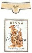 Rare // Etiquette // Rivaz, Bernard Bovy, Chexbres, Vaud, Suisse - Etiquettes