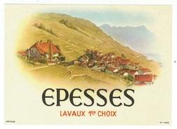 Rare // Etiquette // Epesses, Lavaux 1er Choix, Vaud,Suisse - Etiquettes