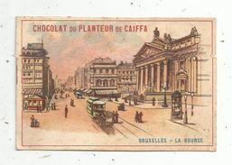 Chromo , CHOCOLAT DU PLANTEUR DE CAÏFFA , Bruxelles , La Bourse - Chocolat