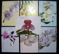 Thailand Postcard + Cover 2009 3rd Siam Praragon Bangkok Royal Orchid Paradise (7) - Thaïlande