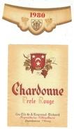 Rare // Etiquette // Chardonne, Perle Rouge 1980, A.Neyroud-Richard, Chardonne Vaud, Suisse - Etiquettes