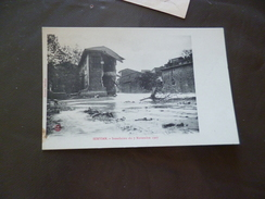 CPA  34 Hérault Servian Inondation Du 7/11/1907 TBE - Sonstige Gemeinden