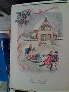 BUON NATALE  BAMBINI  ILLUSTRATA VB1955 GI17312 - Natale