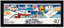 New Zealand 1987 Vesting Day Set Of 2 Used - New Zealand