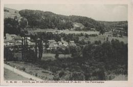 Bj - Cpa THEIX Par ST GENES CHAMPANELLE - Vue Panoramique - France